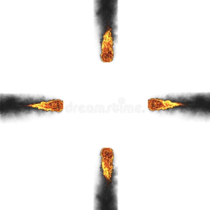 Download 3d fireball stock illustration. Illustration of comet - 8673623