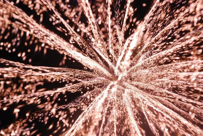 3D Fireworks stock photography