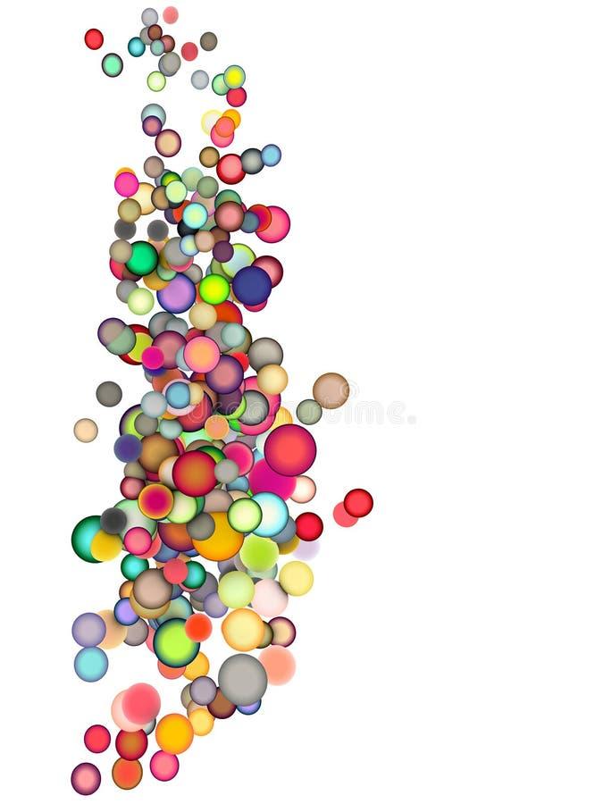 Download 3d Floating Balls In Multiple Colors Stock Illustration - Illustration of diversity, background: 23589280