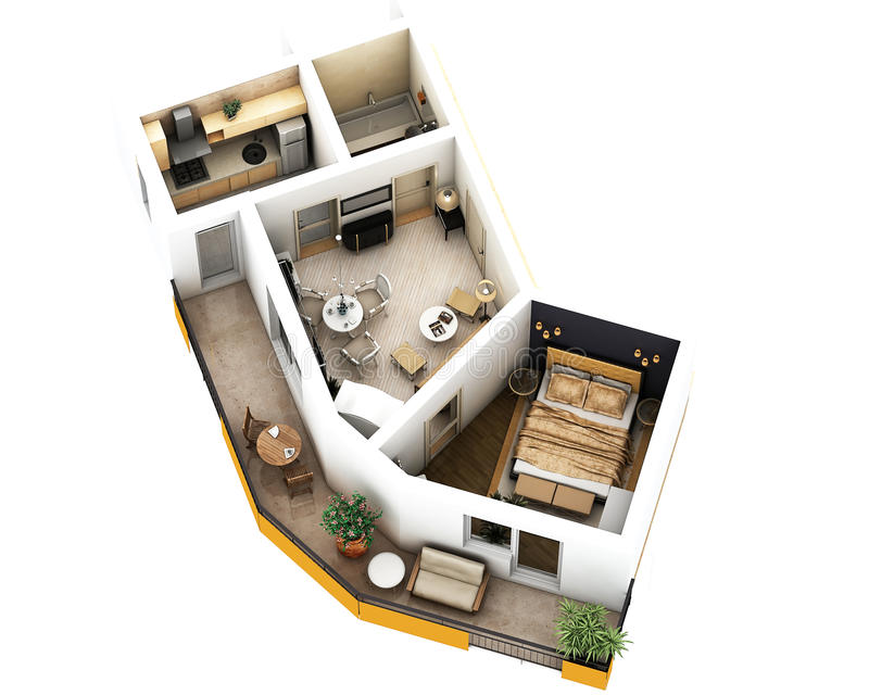 3d floor plan royalty free stock photo image 37626555 for 3d floor plan online free