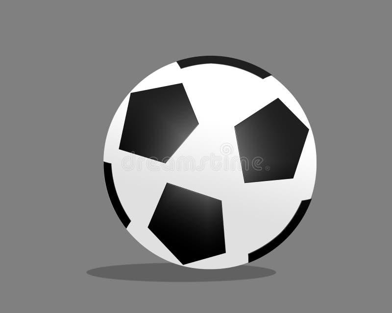 3D Footbal dans le format de Digitals illustration stock
