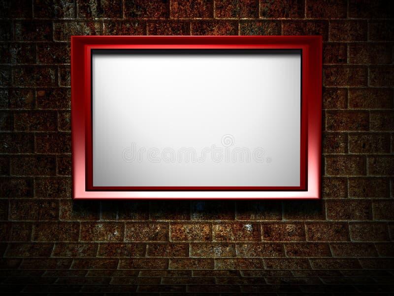 Download 3d Frame On Grunge Background Stock Images - Image: 16990404