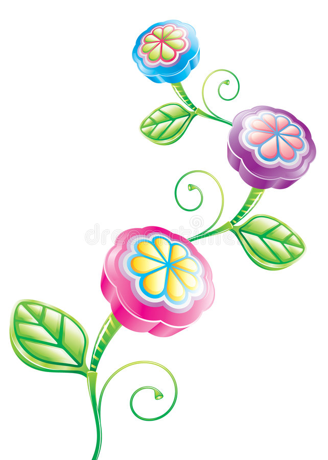 Free 3D Funny Flower Stock Images - 6360184