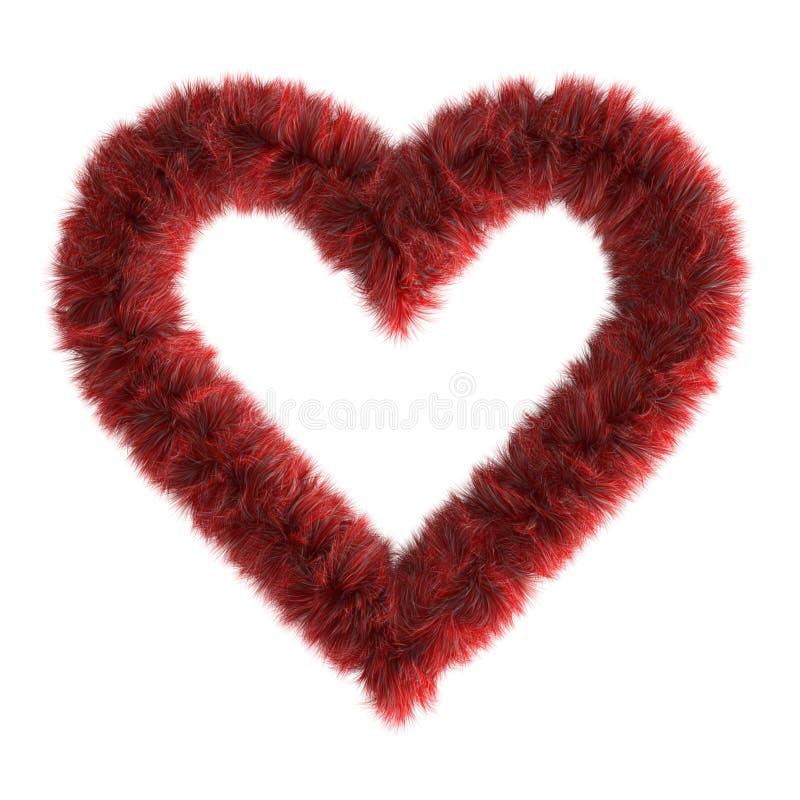 Free 3d Fur Heart Stock Photos - 1534423