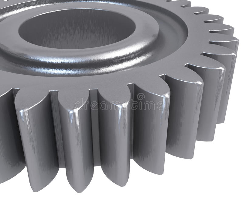 3D Gears stock photography