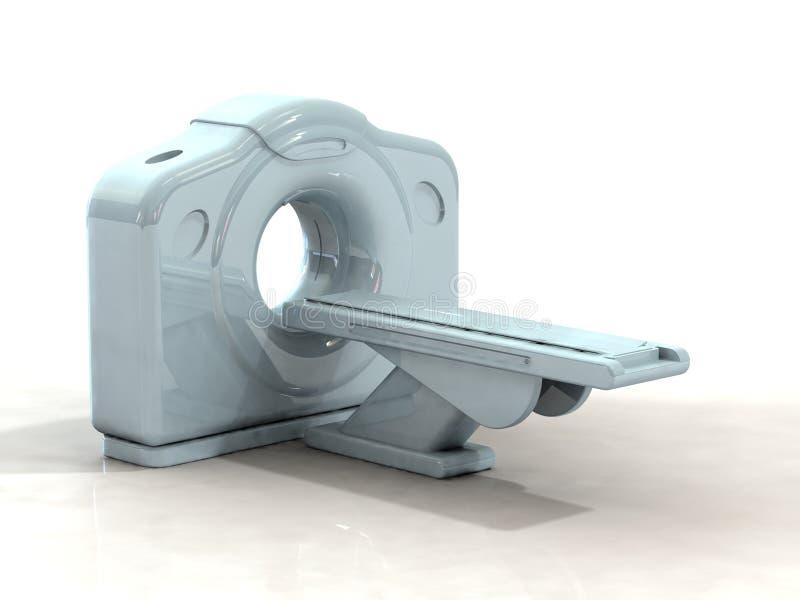 3d geef ct of kattenscanner terug stock illustratie