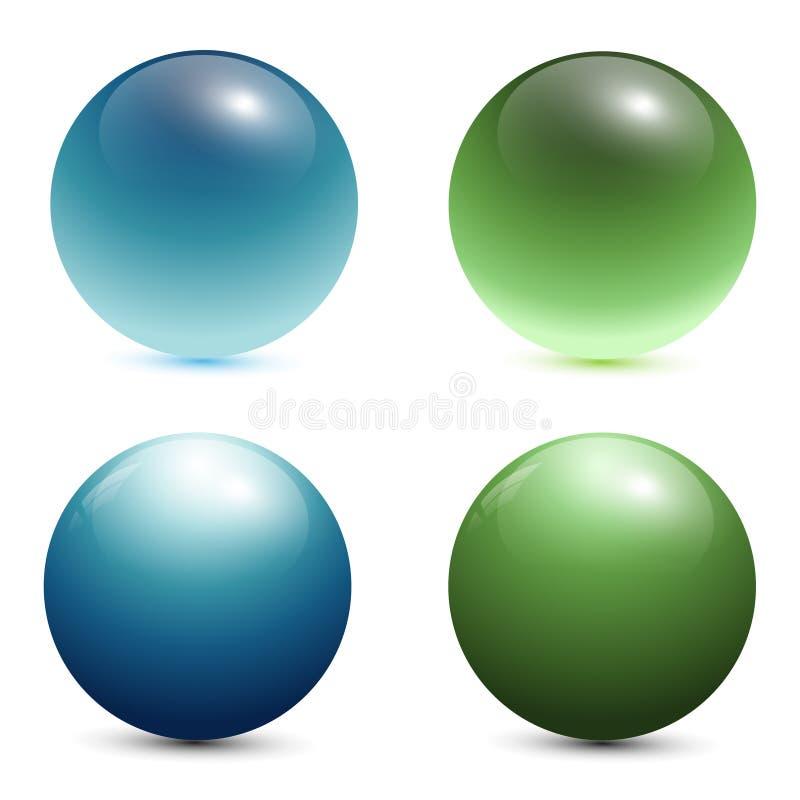 Free 3D Glass Spheres Stock Photos - 14807663