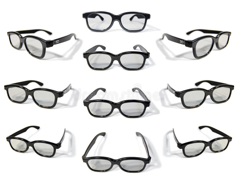 Download 3D Glasses stock photo. Image of isolated, stereoscopic - 15269644