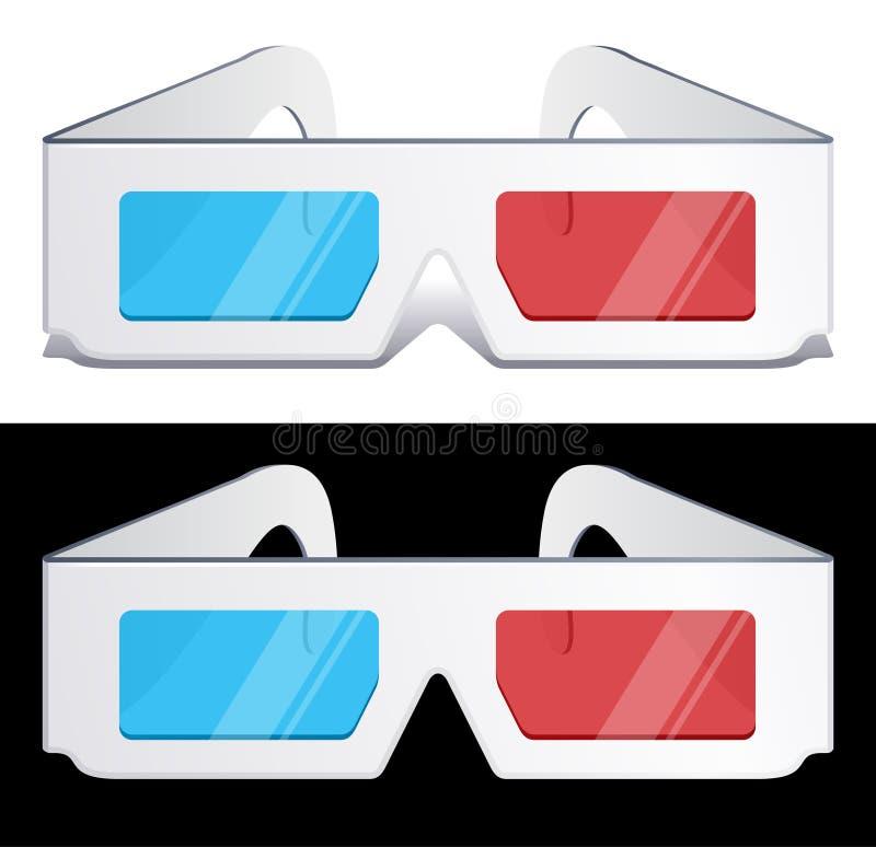 Download 3d glasses stock vector. Illustration of dimensional - 15512581