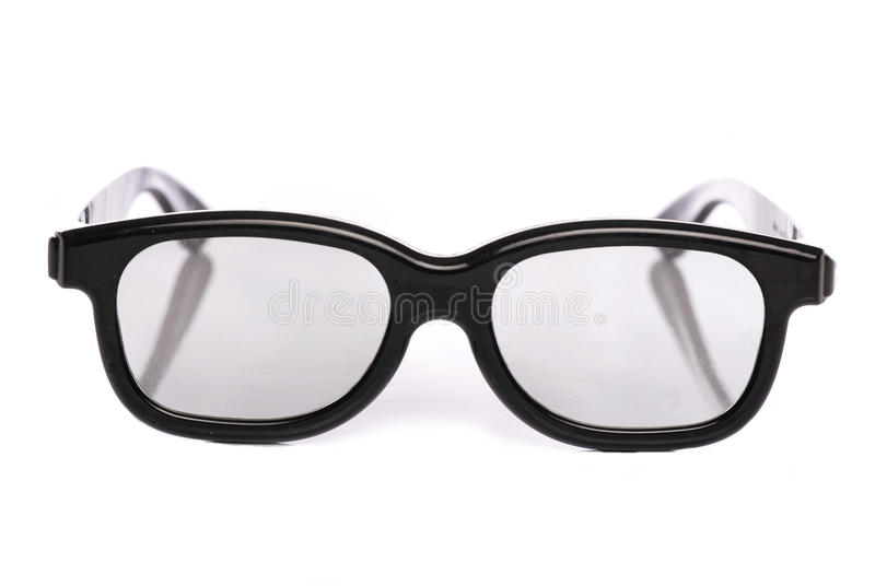 Download 3D glasses stock photo. Image of geeky, studio, background - 16557294
