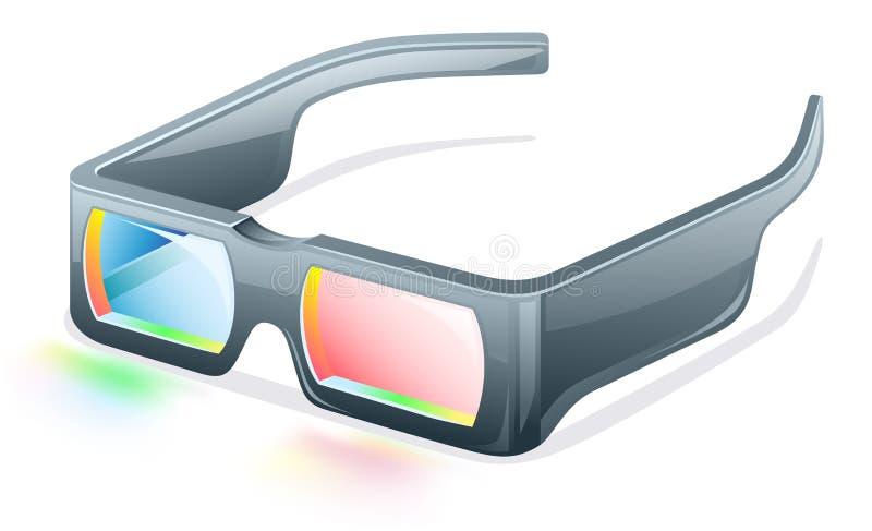 Download 3d glasses stock vector. Image of element, front, modern - 22763179