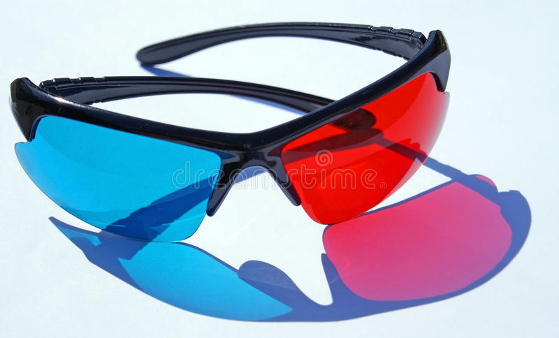Download 3D glasses stock image. Image of three, stereoscopic - 24530367