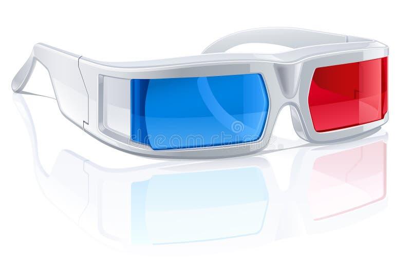 Download 3D Glasses stock vector. Illustration of film, vector - 26165638
