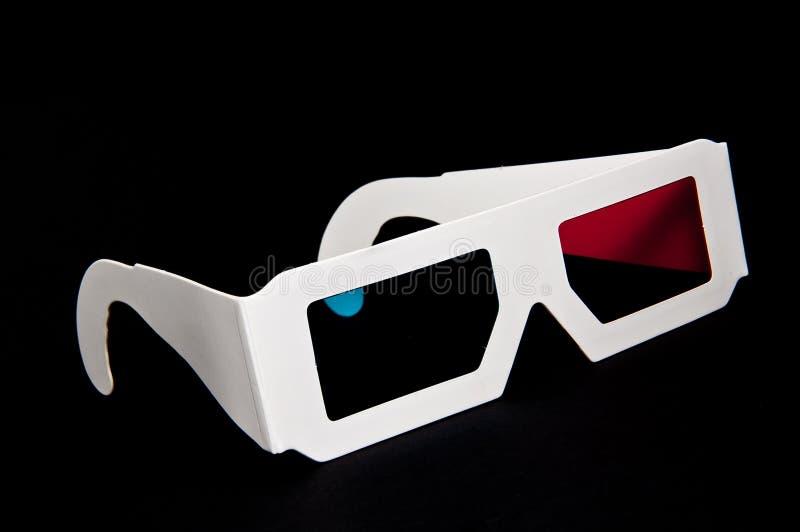 3D Glazen royalty-vrije stock fotografie