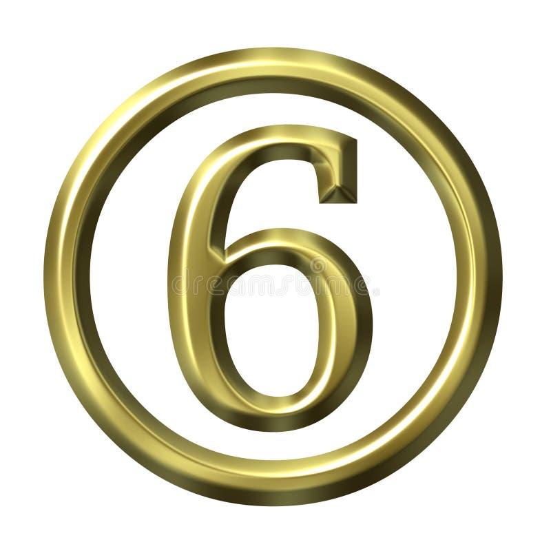 3D Golden Number 6