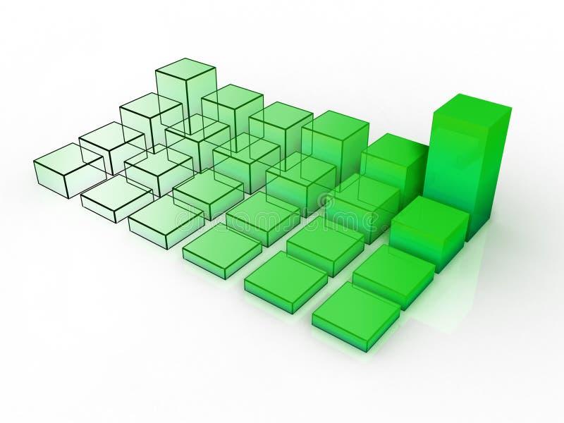 Download 3d grafico #2 illustrazione di stock. Illustrazione di percentuale - 223030