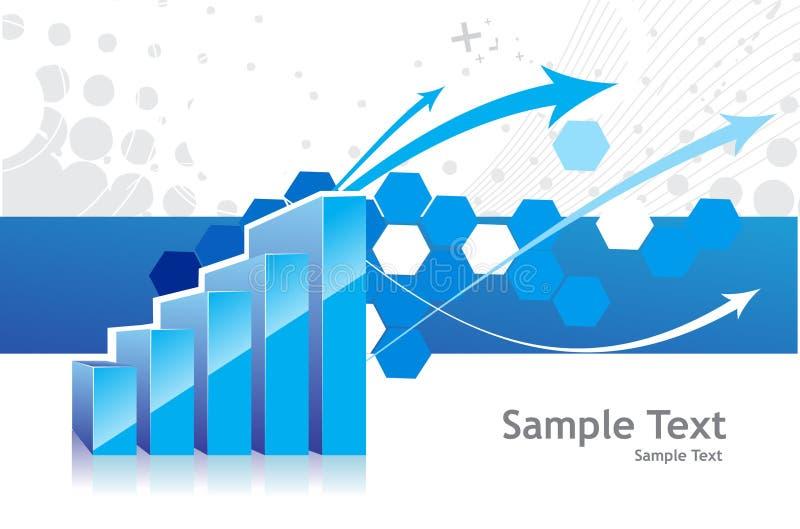 3d grafiek vector illustratie