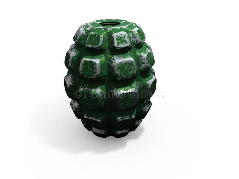 3d granaat royalty-vrije illustratie