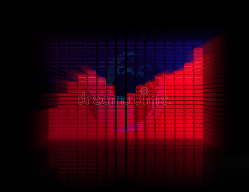 Download 3D graph stock illustration. Image of presentations, progress - 4208696