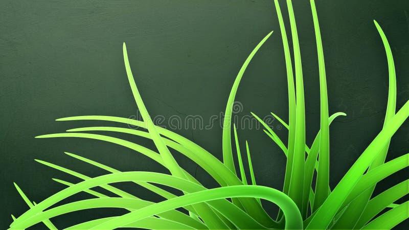 Download 3d Green Futuristic Abstraction Stock Illustration - Illustration: 21259954