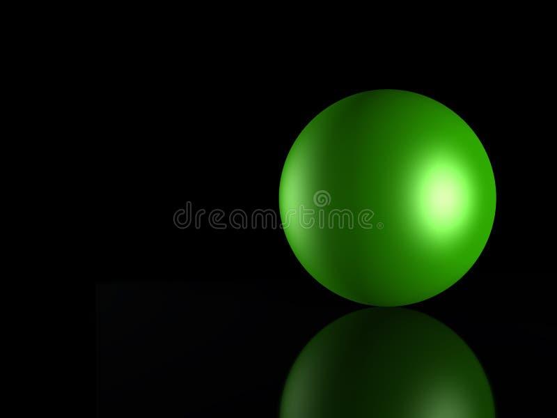 3D green_gebied royalty-vrije illustratie