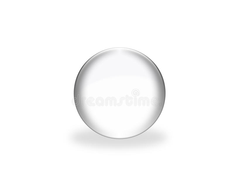 3d grey sphere vector illustration