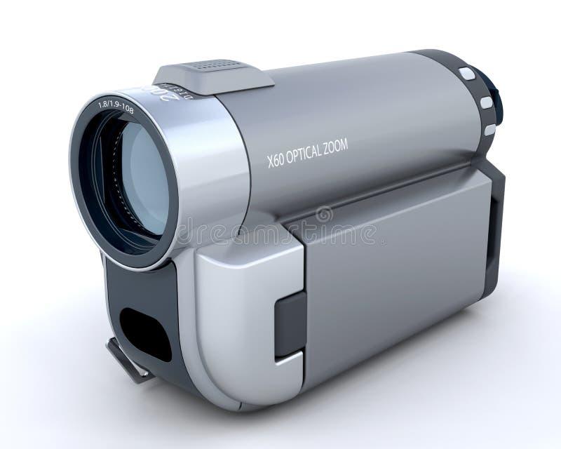 3d handycam 皇族释放例证