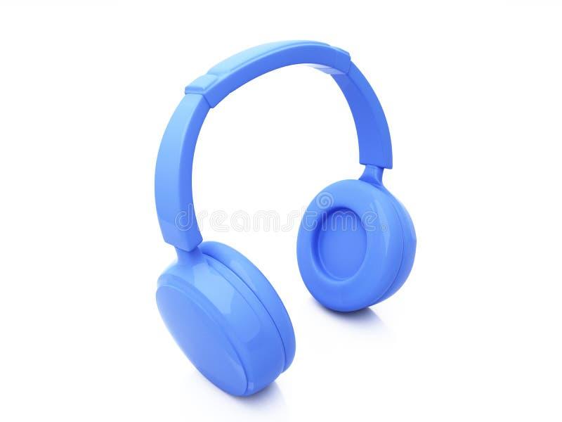 Download 3d headphones stock illustration. Illustration of blue - 11023882