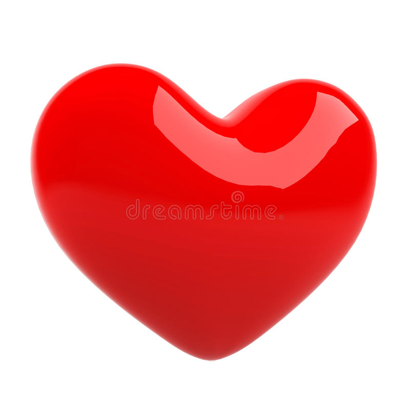 Download 3d heart. stock illustration. Image of cute, lovers, graphic - 22439816