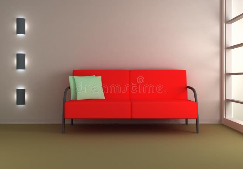 Download 3d home interior stock illustration. Illustration of reflection - 11053479