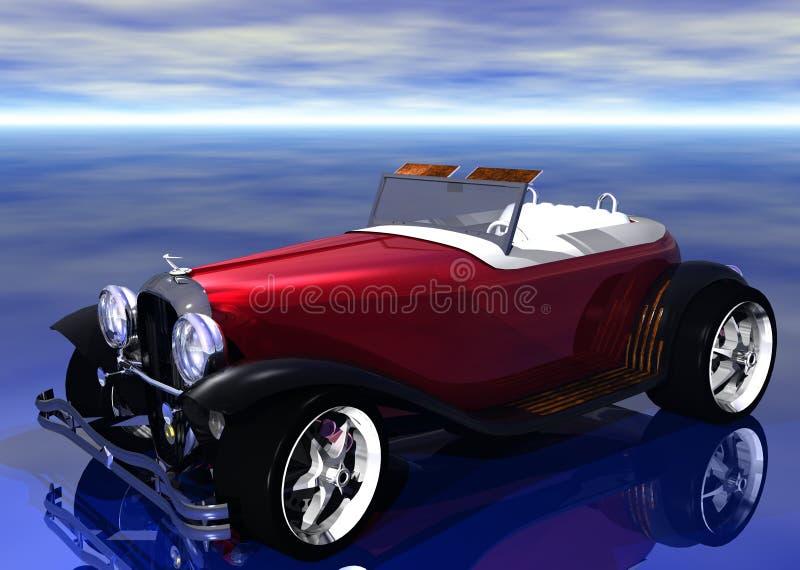 3D Hotrod royalty illustrazione gratis
