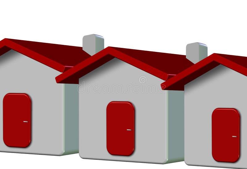 Download 3D house stock illustration. Image of illustration, depth - 11004686