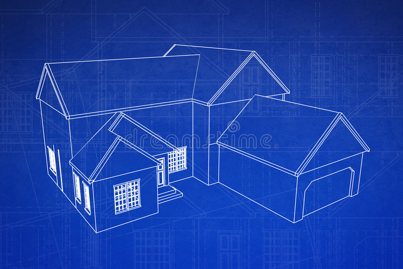 Good 3D House Blueprint
