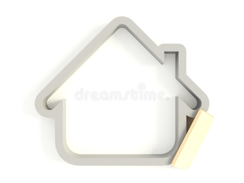 Download 3d House Icon 02 Stock Images - Image: 19016314