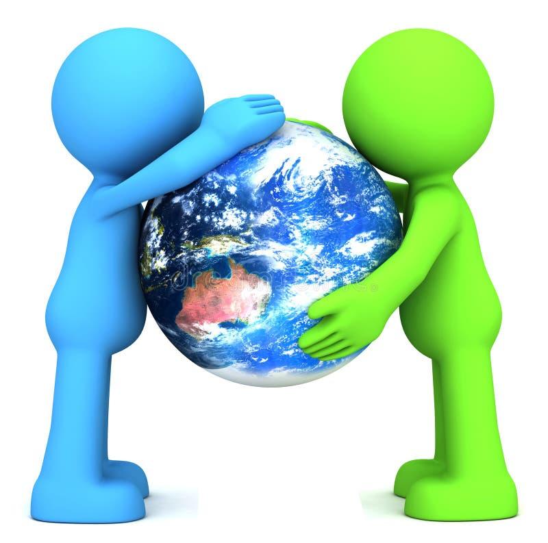 земля с человечками картинки