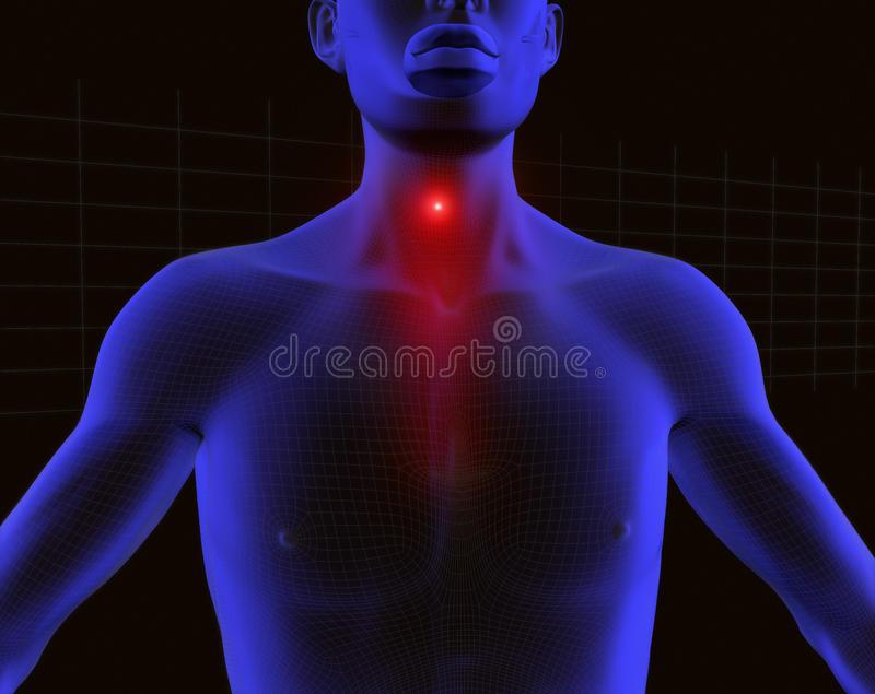 Download 3d human scanner 2 stock illustration. Image of hukyache - 14042633