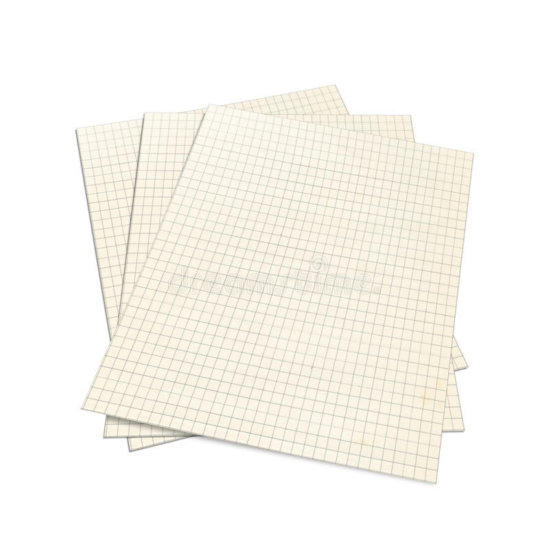 Download 3D Illustration Of Squared Notebook, Royalty Free Stock Image - Image: 15889896