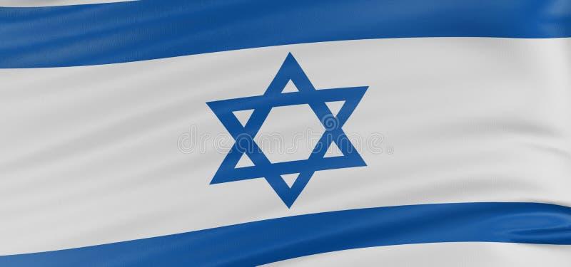3D Israëlische vlag