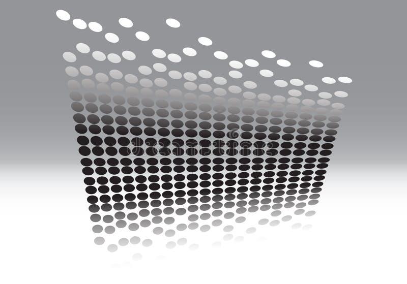 3D jumping dot vector stock photo