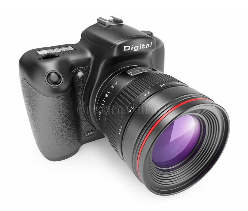 3d kamery cyfrowa ikony fotografia ilustracja wektor