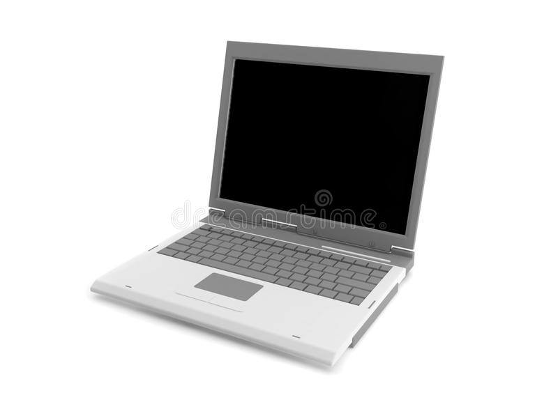 Download 3d laptop stock illustration. Image of liquid, display - 10663046