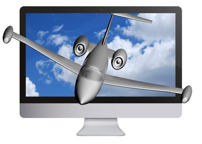 Download 3D LCD TV stock illustration. Illustration of black, action - 26359191
