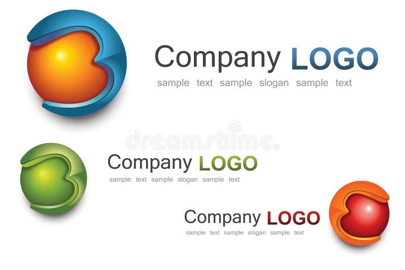 3D logo royalty ilustracja