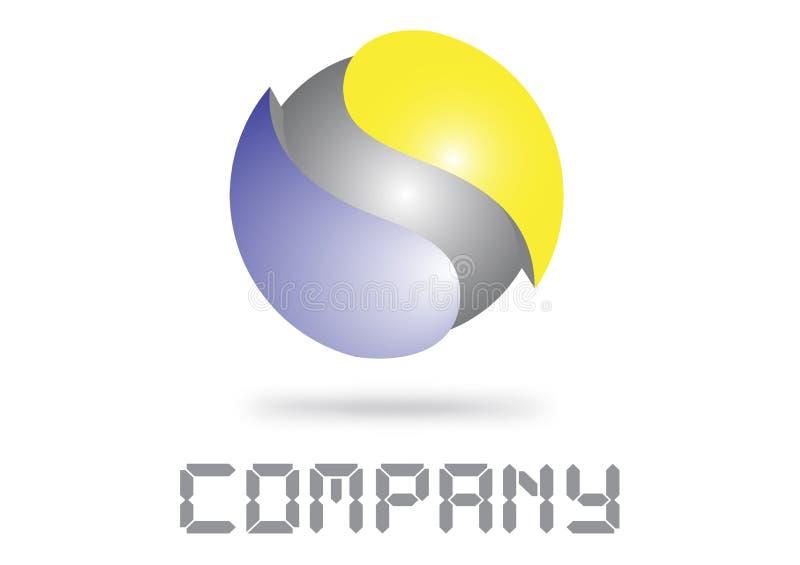 Download 3d logo ilustracji. Obraz złożonej z krzywa, znak, arte - 22159133