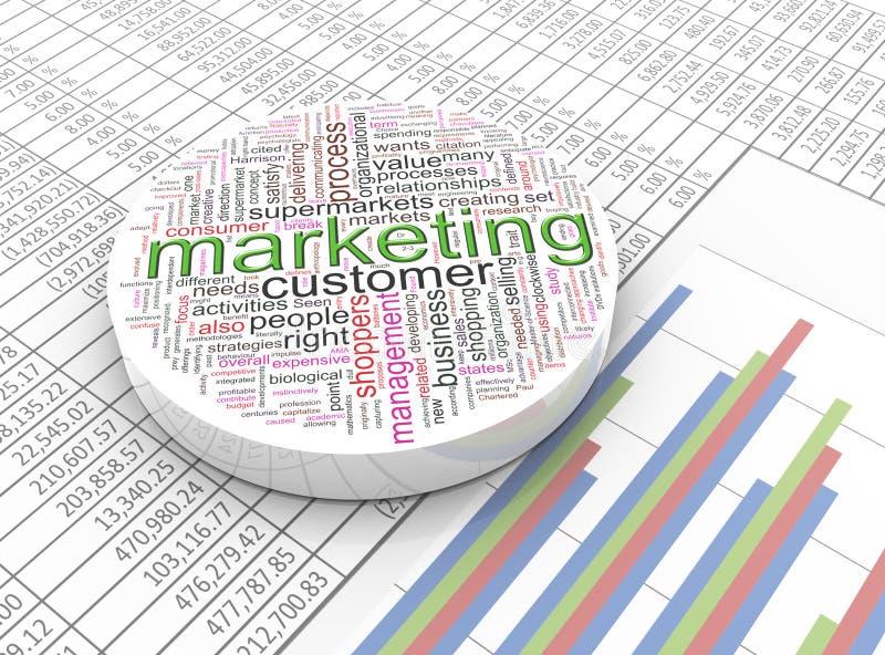 3d marketing royalty free illustration