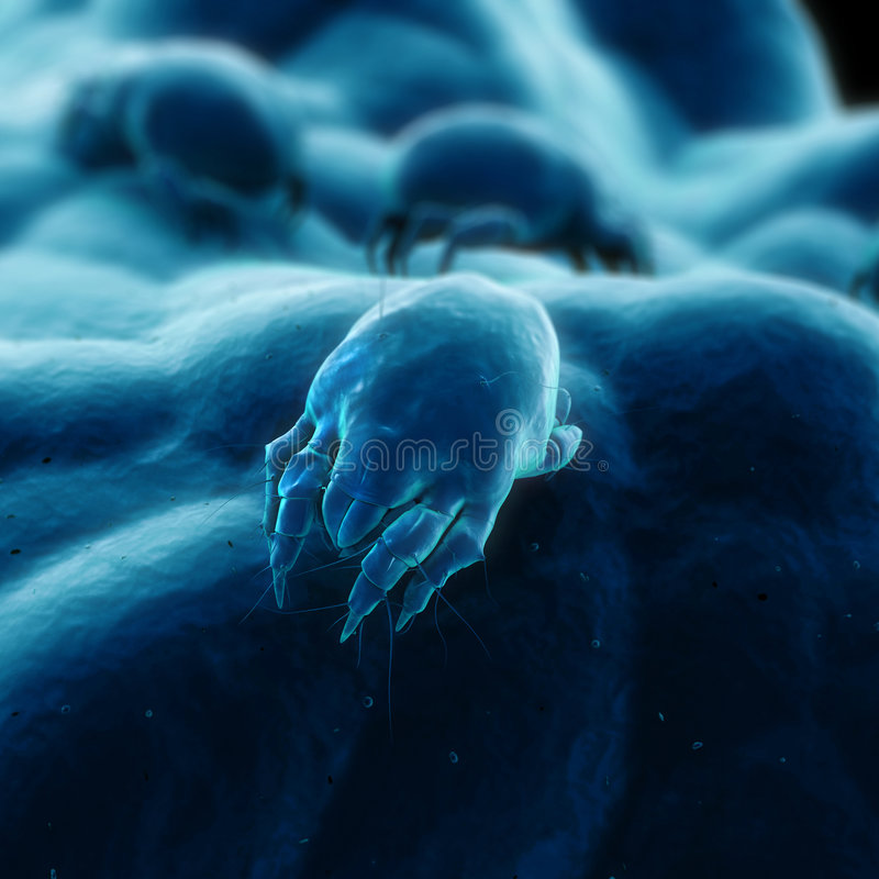 Download 3d mite stock illustration. Image of dusty, electron, dirty - 2870034