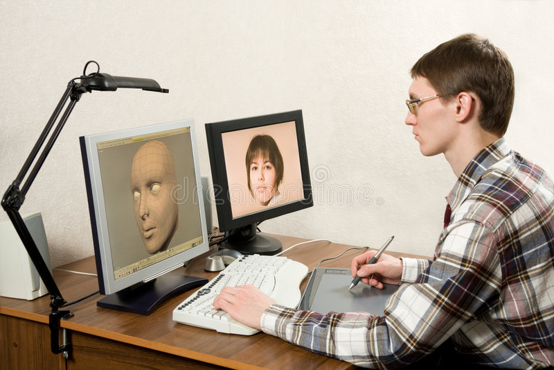 3D modelleringsproces
