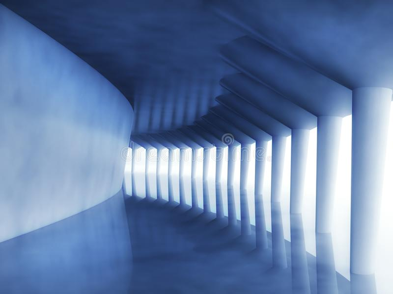 Download 3d Modern Architecture Corridor Stock Images - Image: 22118034