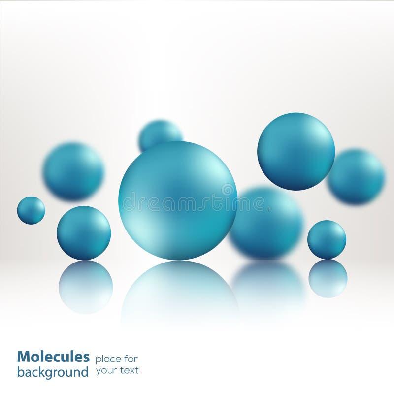 Free 3d Molecule Model Creative Design Stock Images - 62561704