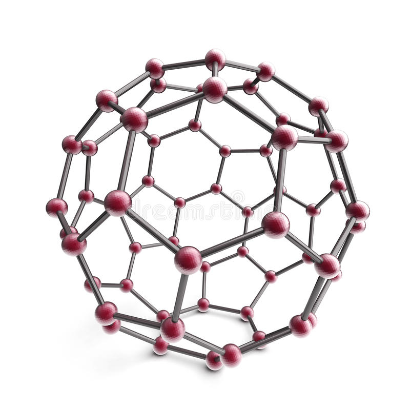 Free 3d Molecule Sphere Royalty Free Stock Images - 22223209